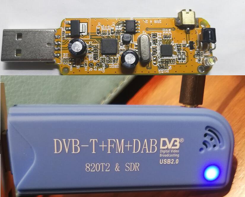 关于DVB-T+FM+DAB 820T2&SDR软件无线电